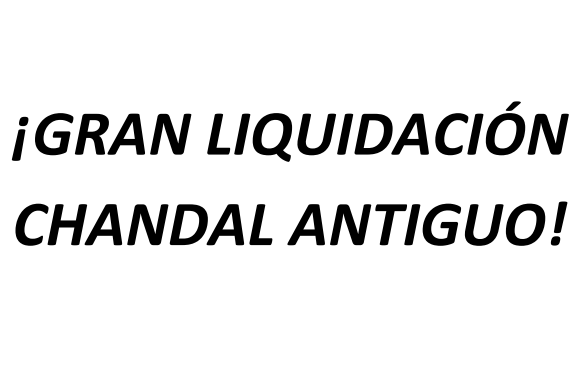 Liquidación chándal antiguo