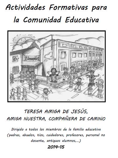 Actividades formativas para la Comunidad Educativa