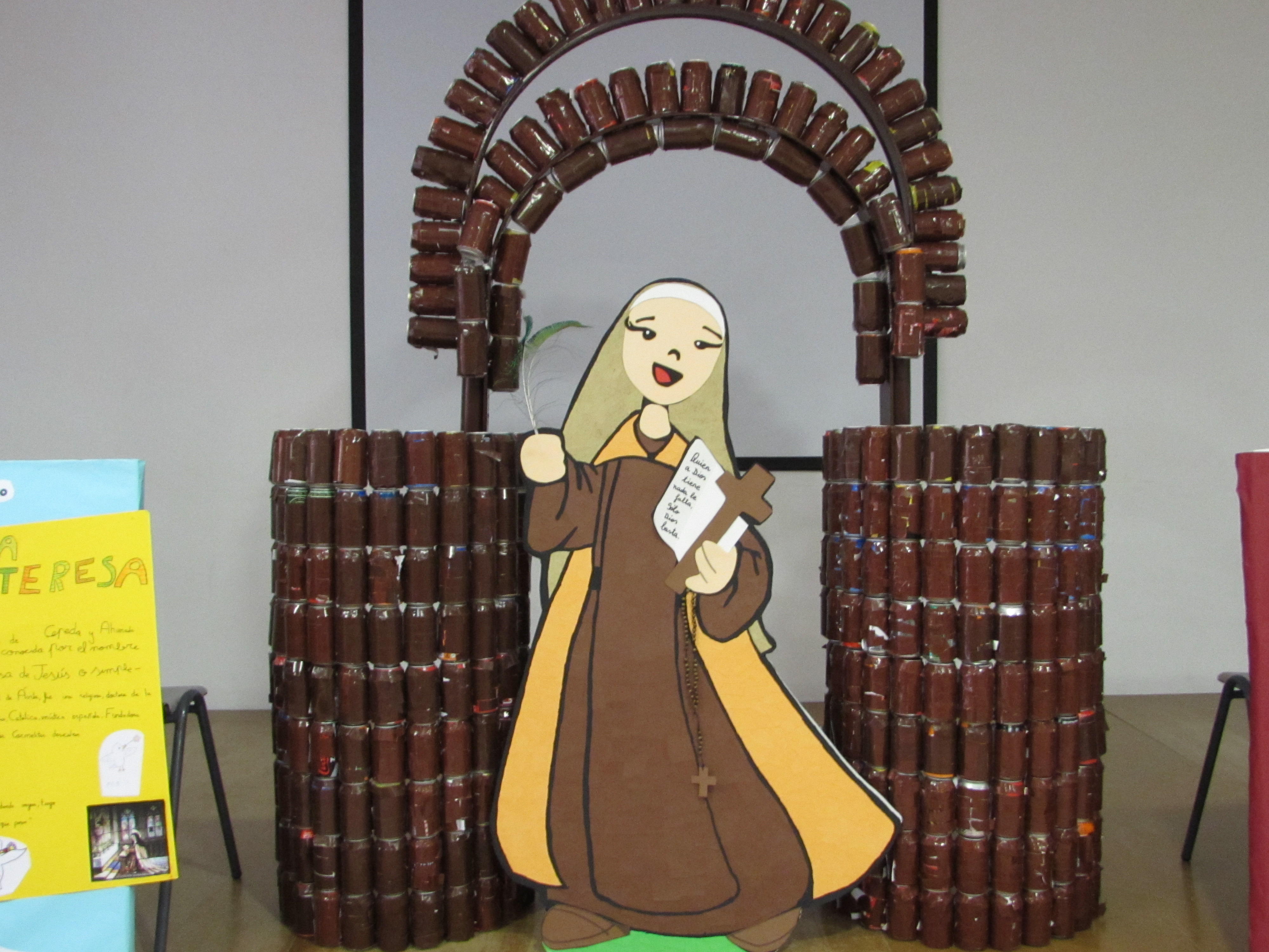 El Arnauda celebra el V Centenario de Santa Teresa