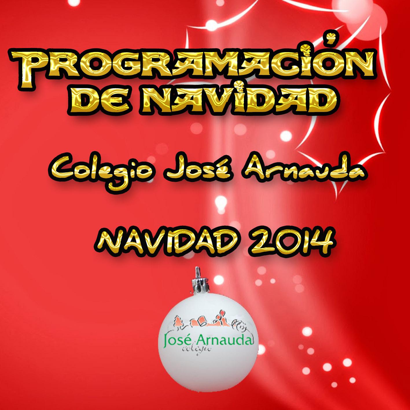 Programación Navidad Arnauda 2014