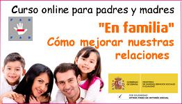Curso Online «En familia. Cómo mejorar nuestras relaciones»